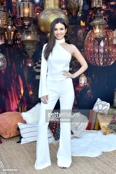 Victoria Justice attends ZOEasis 2018 at Parker Palm Springs on April 13 2018 in Palm Springs California
