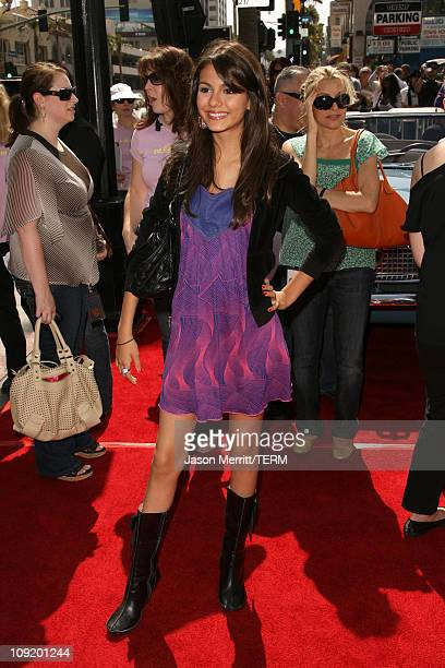 Victoria Justice during 'Nancy Drew' Los Angeles Premiere Red Carpet at Grauman's Chinese Theater in Hollywood California United States