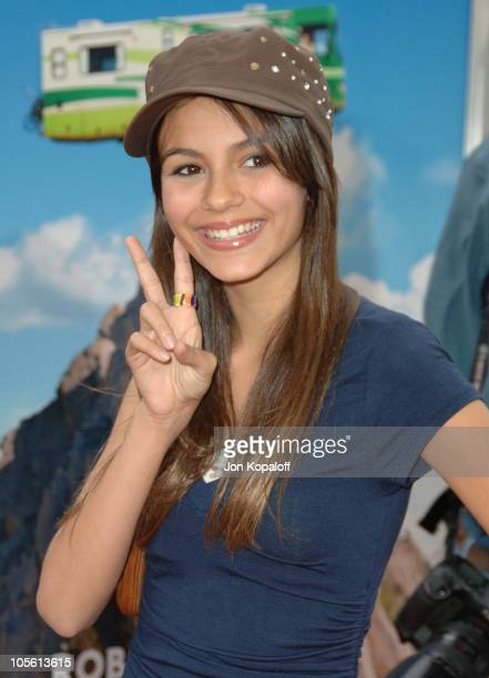 Victoria Justice during 'RV' Los Angeles Premiere Arrivals at Mann Village Theatre in Westwood California United States