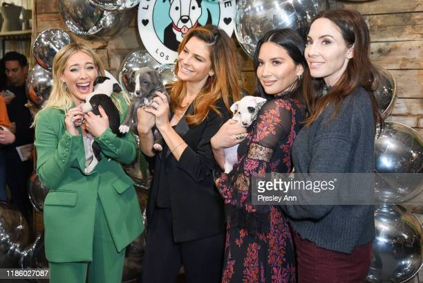 Victoria Justice, Hilary Duff, Whitney Cummings, Maria Menounos and Olivia Munn attends Love Leo Rescue's 2nd Annual Cocktails for a Cause at Rolling...