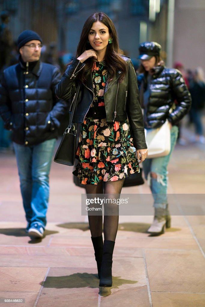 Street Style - New York City - March 2018 : News Photo