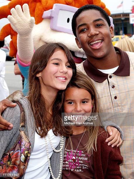 Victoria Justice Madison Reed and Chris Massey during Nickelodeon Presents Fairypalooza Premiere for 'Rugrats Tales From The Crib Snow White'...