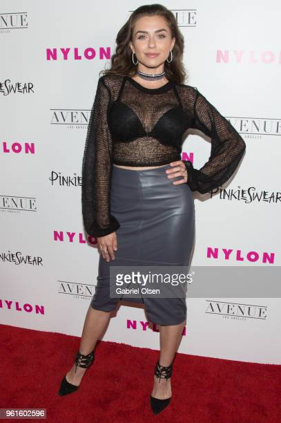Victoria Konefal arrives for NYLON Hosts Annual Young Hollywood Party at Avenue on May 22 2018 in Los Angeles California