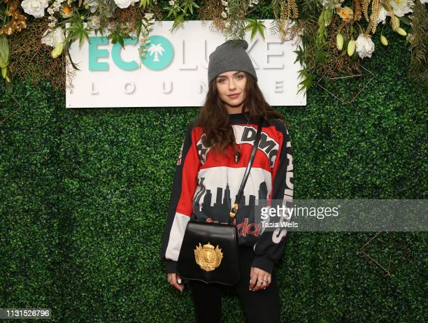 Victoria Konefal attends Debbie Durkin's EcoLuxe Lounge Honoring Film Nominees at The Beverly Hilton Hotel on February 22 2019 in Beverly Hills...
