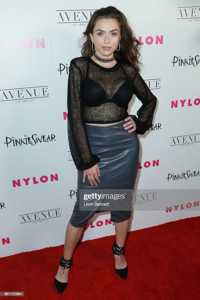 Victoria Konefal attends NYLON Hosts Annual Young Hollywood Party at Avenue on May 22, 2018 in Los Angeles, California.