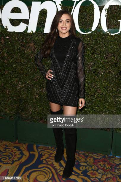 Victoria Konefal attends the Teen Vogue's 2019 Young Hollywood Party Presented By Snap at Los Angeles Theatre on February 15 2019 in Los Angeles...