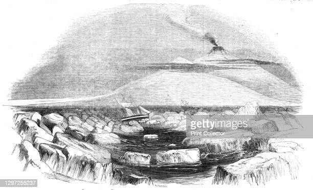 Victoria Land, in the South-Polar regions, discovered by Capt. Sir J. C. Ross, 1844. 'In the beginning of the year 1839, the British...