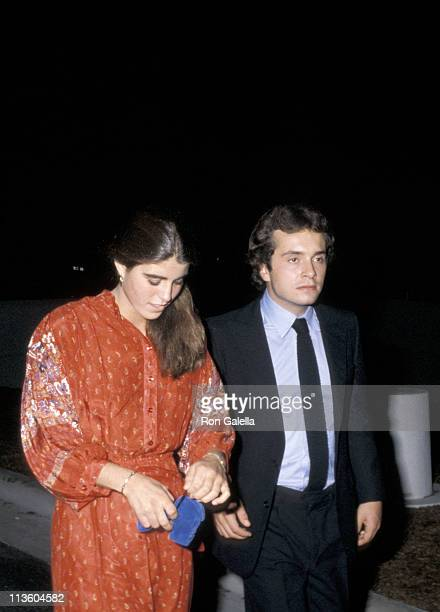 Victoria Lawford and Anthony Radziwill during PreDedication Party For the JFK Library at University of Massachusettes in Dorchester Massachusetts...
