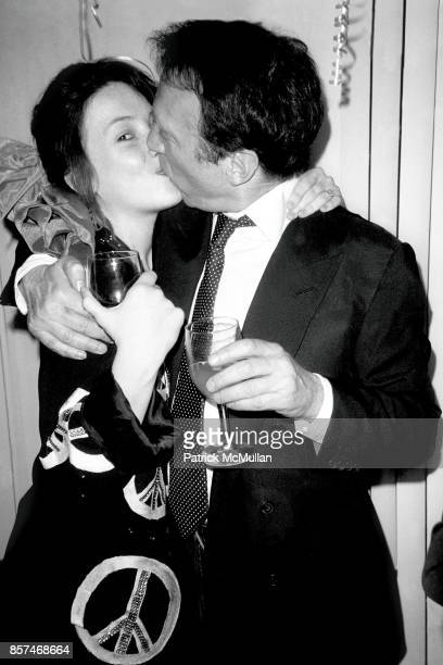 Victoria Leacock, Anthony Haden-Guest Party for Glenn Dubin Dr. Bob Gillfer's Residence, NYC April 11, 1987 Kiss.