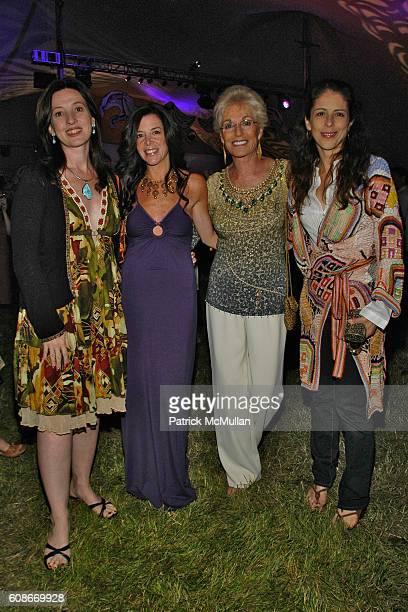 Victoria LeacockHoffman Stefani Greenfield Carol Dertz and Dini von Mueffling attend LOVE HEALS The Alison Gertz Foundation for AIDS Education at...