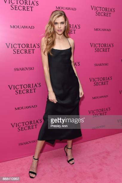 Victoria Lee attends 2017 Victoria's Secret Fashion Show In Shanghai After Party at MercedesBenz Arena on November 20 2017 in Shanghai China