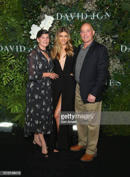 Victoria Lee attends the David Jones Spring Summer 18 Collections Launch at Fox Studios on August 8 2018 in Sydney Australia
