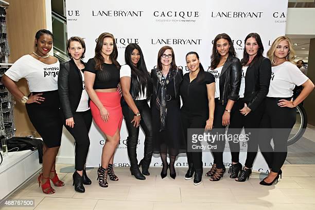 Victoria Lee Elly Mayday Ashley Graham Sandra 'Pepa' Denton Lane Bryant CEO Linda Heasley Cheryl 'Salt' James Marquita Pring Candice Huffine and...