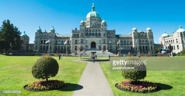 Victoria Legislative Building in Victoria, British Columbia, Canada