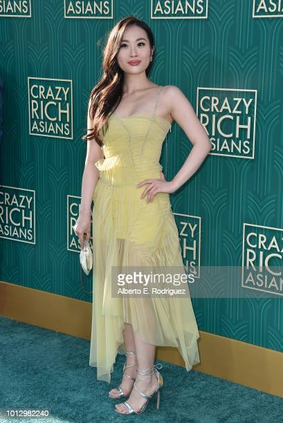 """Victoria Loke attends the premiere of Warner Bros. Pictures' """"Crazy Rich Asiaans"""" at TCL Chinese Theatre IMAX on August 7, 2018 in Hollywood,..."""