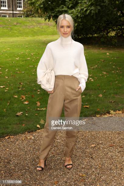 Victoria Magrath attends the Erdem show during London Fashion Week September 2019 on September 16 2019 in London England