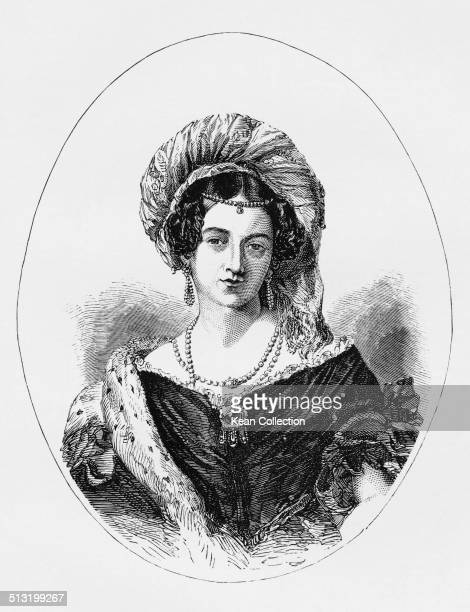 Victoria Maria Louise Duchess of Kent the wife of Edward Augustus Duke of Kent and mother of Queen Victoria circa 1820
