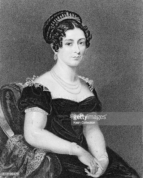 Victoria Maria Louise Duchess of Kent the wife of Edward Augustus Duke of Kent and mother of Queen Victoria circa 1830
