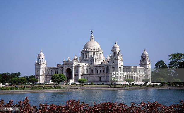 Victoria Memorial in Calcutta in India