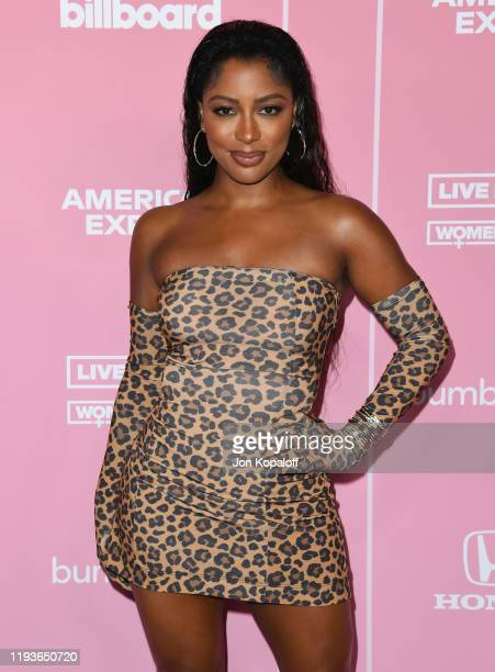 Victoria Monet attends the 2019 Billboard Women In Music at Hollywood Palladium on December 12 2019 in Los Angeles California