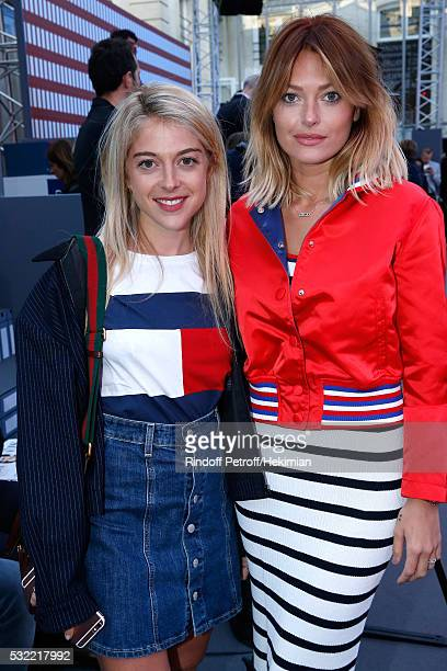 Victoria Monfort and Caroline Receveur attend Tommy Hilfiger hosts Tommy X Nadal Party Photocall on May 18 2016 in Paris