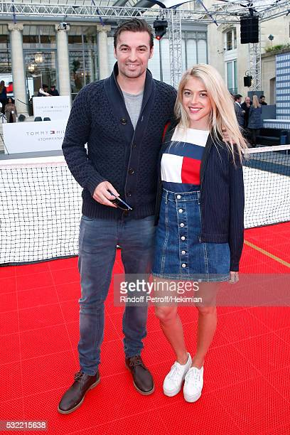 Victoria Monfort and guest attend Tommy Hilfiger hosts Tommy X Nadal Party Photocall on May 18 2016 in Paris