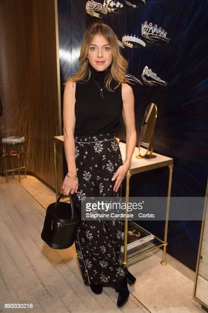 Victoria Monfort attends the Chaumet Boutique Re Opening Rue Francois 1er at Rue Francois 1er on December 14 2017 in Paris France