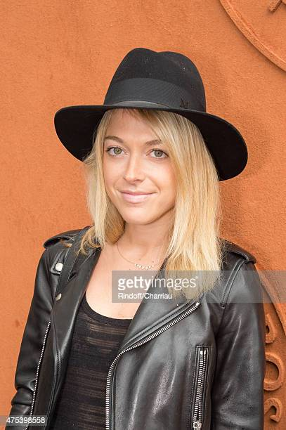 Victoria Monfort attends the French open at Roland Garros on May 31 2015 in Paris France
