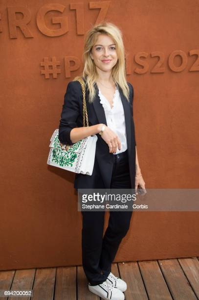 Victoria Monfort attends the French Tennis Open 2017 Day Thirteen at Roland Garros on June 9 2017 in Paris France