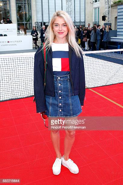 Victoria Monfort attends Tommy Hilfiger hosts Tommy X Nadal Party Photocall on May 18 2016 in Paris
