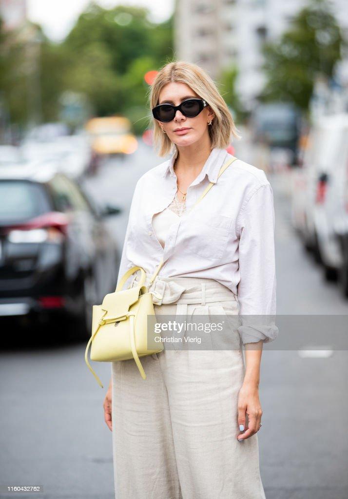 Street Style - Berlin - July 6, 2019 : Photo d'actualité