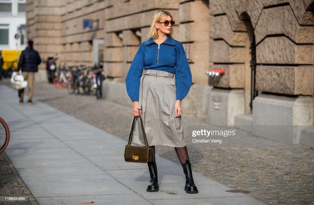 Street Style - Berlin - November 15, 2019 : Photo d'actualité