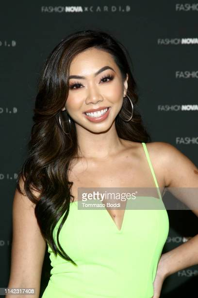 Victoria Nguyen arrives as Fashion Nova Presents Party With Cardi at Hollywood Palladium on May 8 2019 in Los Angeles California