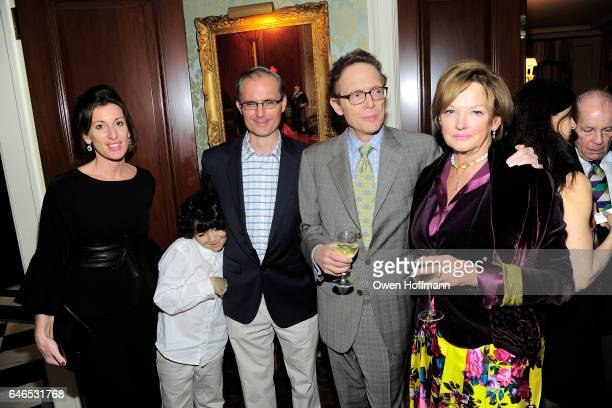 Victoria Nicholson Scott Elkins David Levy and Amanda Bowman attend Martin and Jean Shafiroff Host Kickoff Cocktails for NYC Mission Society at...