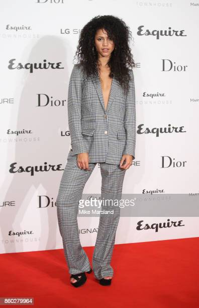Victoria NwosuHope attends the Esquire Townhouse with Dior party at No 11 Carlton House Terrace on October 11 2017 in London England