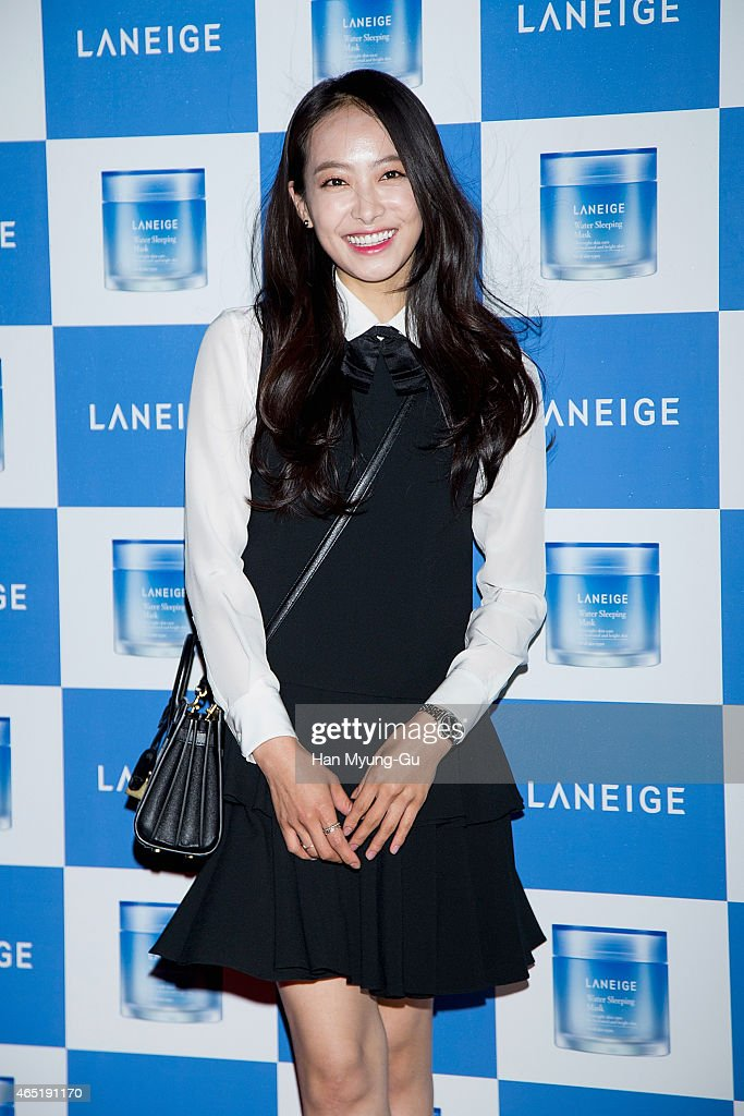Victoria of girl group f(x) attends the Laneige Launch Party at Y1975 on March 3, 2015 in Seoul, South Korea.