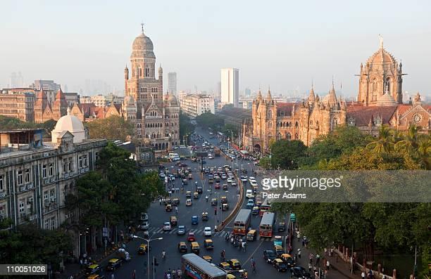 victoria or chhatrapati shivaji terminus, mumbai - mumbai stock pictures, royalty-free photos & images
