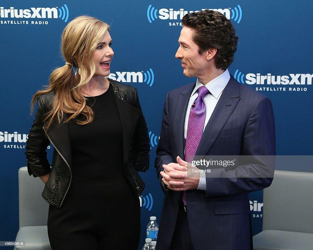 Celebrities Visit SiriusXM Studios - September 29, 2014 : News Photo