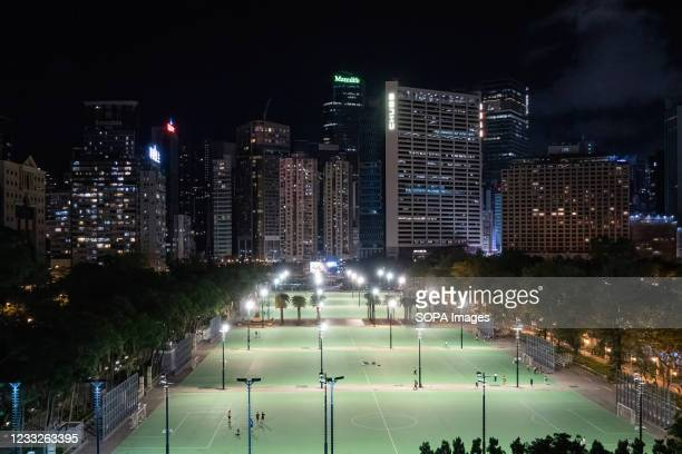 Victoria Park's football pitches will be off limits for protesters marking the 32nd anniversary of the Tiananmen Square crackdown in 1989. Police...