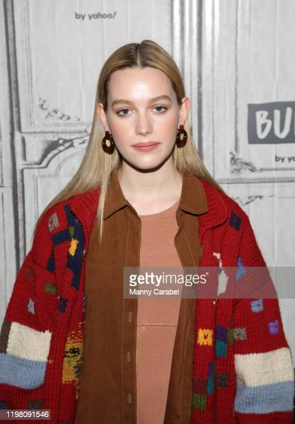 Victoria Pedretti attends Build Series to discuss her role on the series 'You' at Build Studio on January 07 2020 in New York City