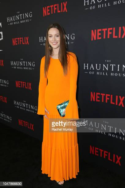 Victoria Pedretti attends Netflix's The Haunting of Hill House Premiere at Arclight Hollywood on October 8 2018 in Hollywood California
