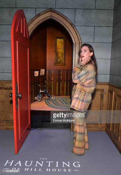 Victoria Pedretti attends the Netflix FYSEE Event for Haunting of Hill House at Raleigh Studios on May 21 2019 in Los Angeles California