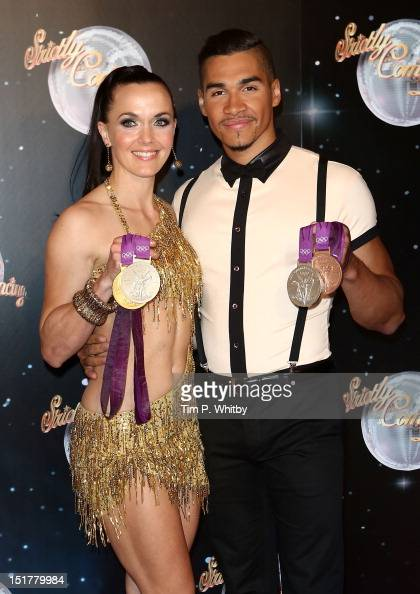 Victoria Pendleton And Louis Smith Attend The Launch Of