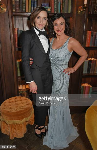 Victoria Pendleton and Shirley Ballas attend the Rosewood Mini Wishes Gala Dinner in aid of Great Ormond Street Hospital Children's Charity at...