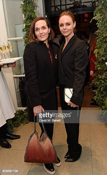 Victoria Pendleton and Stella McCartney attend the Stella McCartney Christmas Lights switch on at the Stella McCartney Bruton Street Store on...