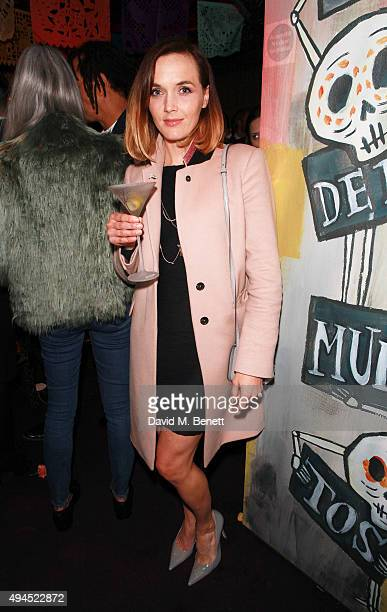 Victoria Pendleton at Loulou's in Mayfair ahead of the exclusive screening of Spectre hosted by Belvedere Vodka and Aston Martin on October 27 2015...
