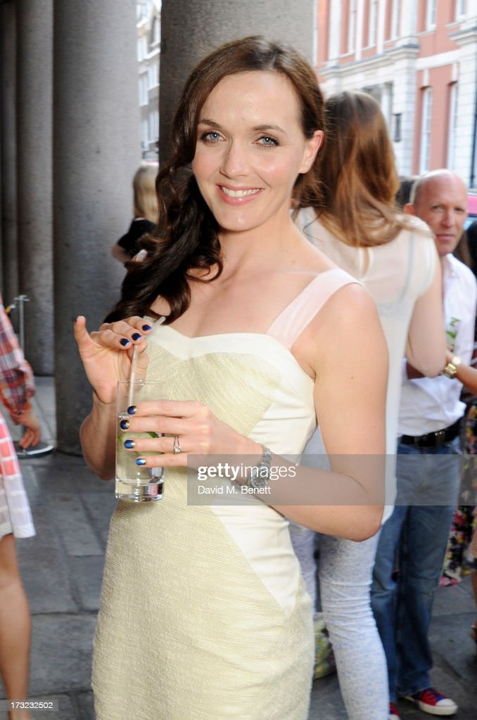 Victoria Pendleton attends a party for www.getthegloss.com hosted by Chanel at Chanel Covent Garden store on July 10, 2013 in London, England.