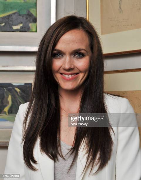 Victoria Pendleton attends a party hosted by Jimmy Choo Esquire during the London Collections SS14 on June 16 2013 in London England