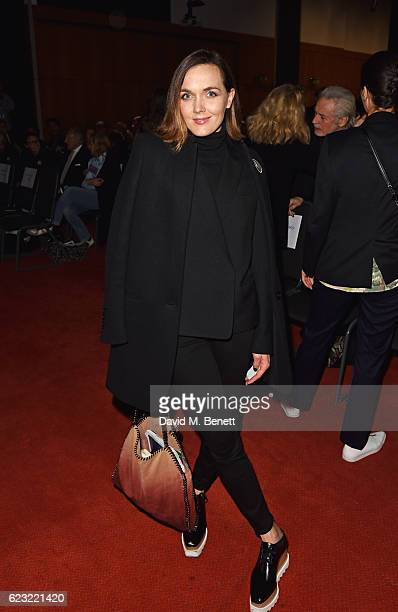 Victoria Pendleton attends the 2016 Kering Talk at the London College of Fashion on November 14 2016 in London England