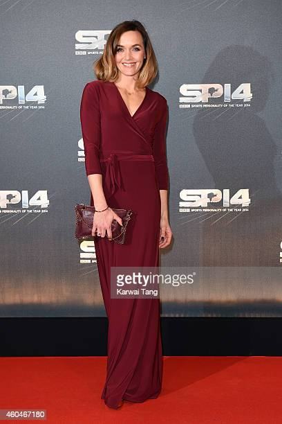 Victoria Pendleton attends the BBC Sports Personality of the Year awards at The Hydro on December 14 2014 in Glasgow Scotland